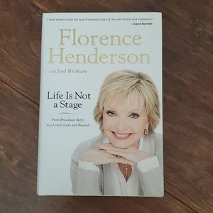 Life Is Not a Stage Florence Henderson Book